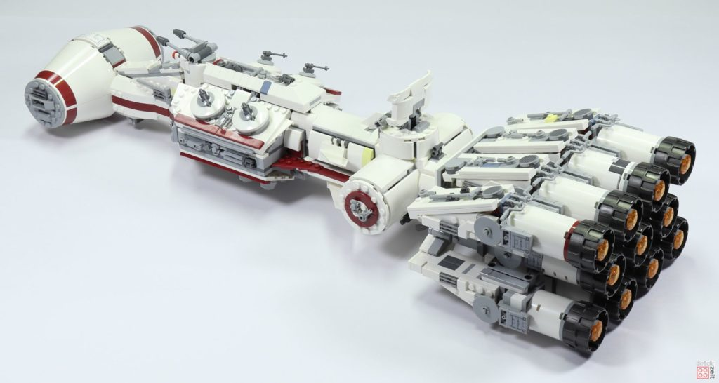 LEGO Star Wars 75244 Tantive IV - hinten links | ©2019 Brickzeit