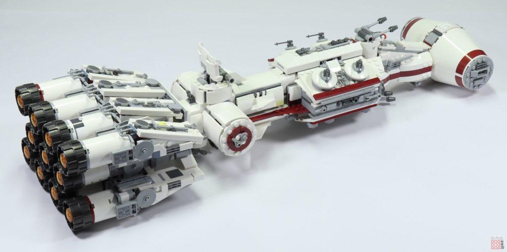 LEGO Star Wars 75244 Tantive IV - hinten rechts | ©2019 Brickzeit