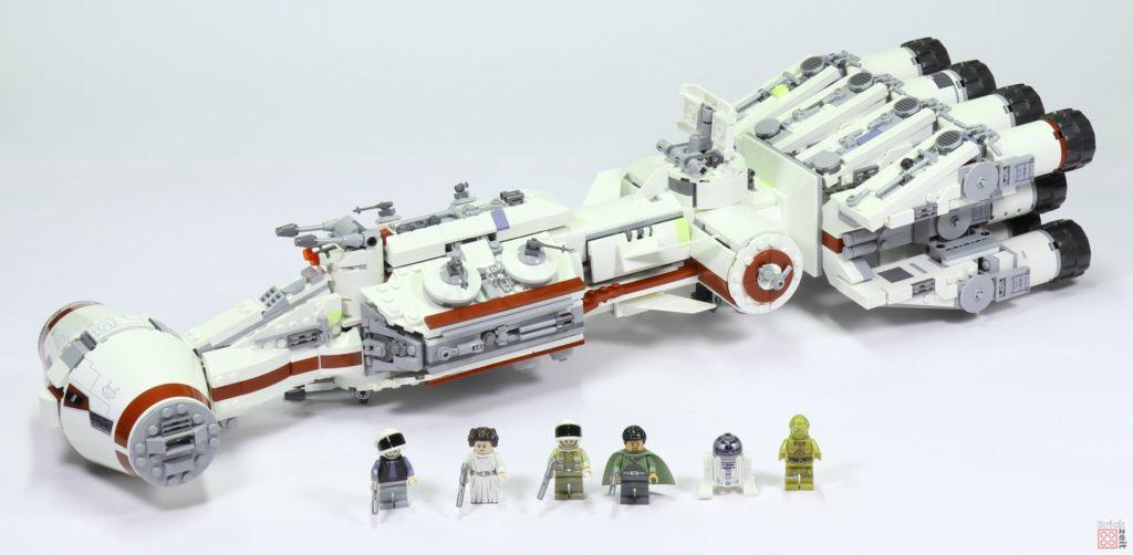 LEGO Star Wars 75244 Tantive IV mit Minifiguren | ©2019 Brickzeit