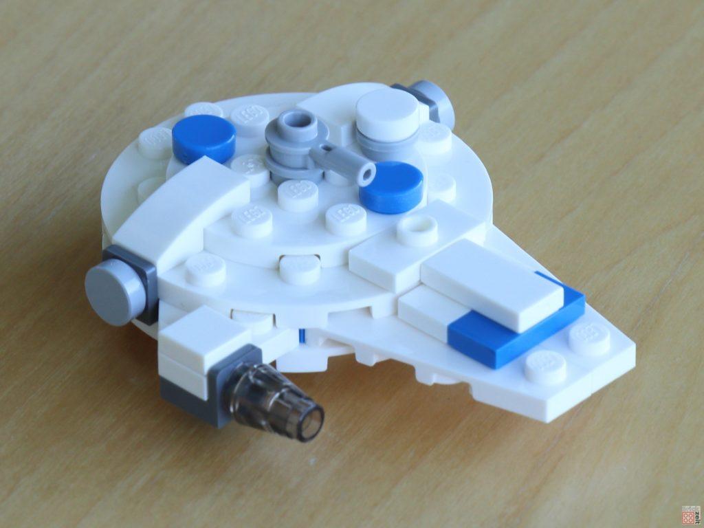 LEGO® Star Wars™ olybag 911949, Kessel Run Millennium Falcon, vorne rechts | ©2019 Brickzeit