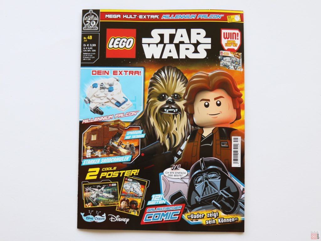 LEGO® Star Wars™ Magazin 49 - Heft-Cover | ©2019 Brickzeit