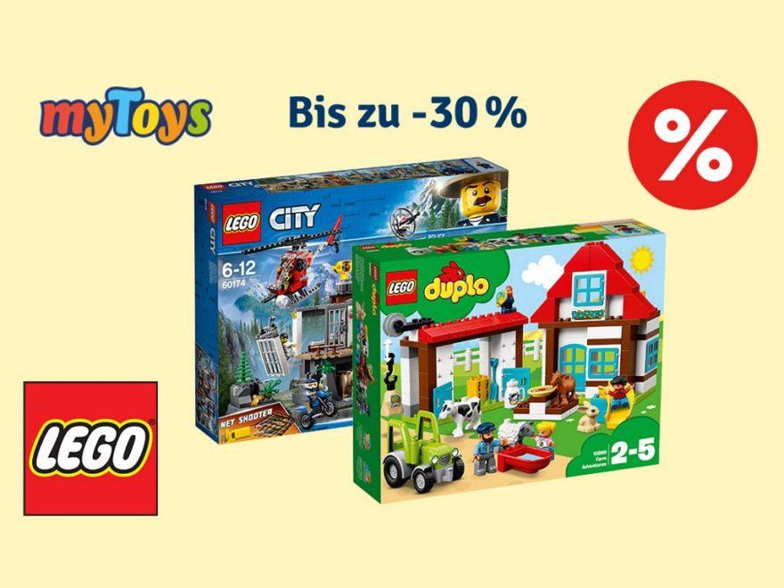 myToys 30% auf LEGO im Juni