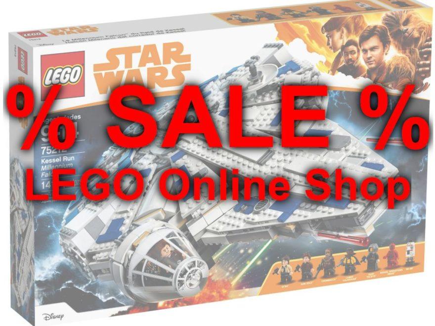 Angebote im LEGO Online Shop - Juni 2019 Titelbild