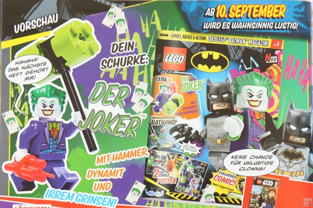 LEGO® Batman Magazin Heftvorschau Nr.5 | ©2019 Brickzeit