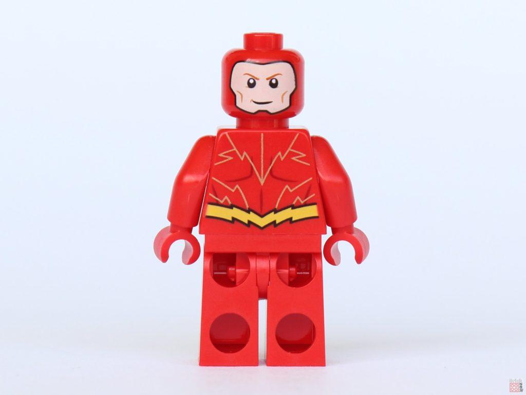LEGO® Batman Magazin Nr. 4 - Flash ohne Maske, Rückseite und alternatives Gesicht | ©2019 Brickzeit