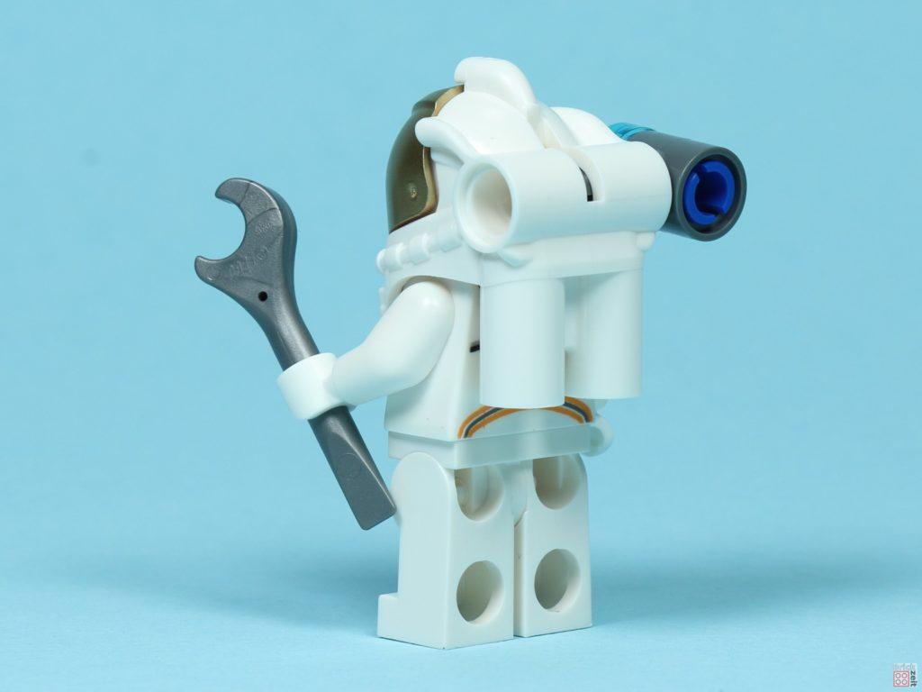 LEGO® City 30365 - Astronaut mit Zubehör, hinten links | ©2019 Brickzeit