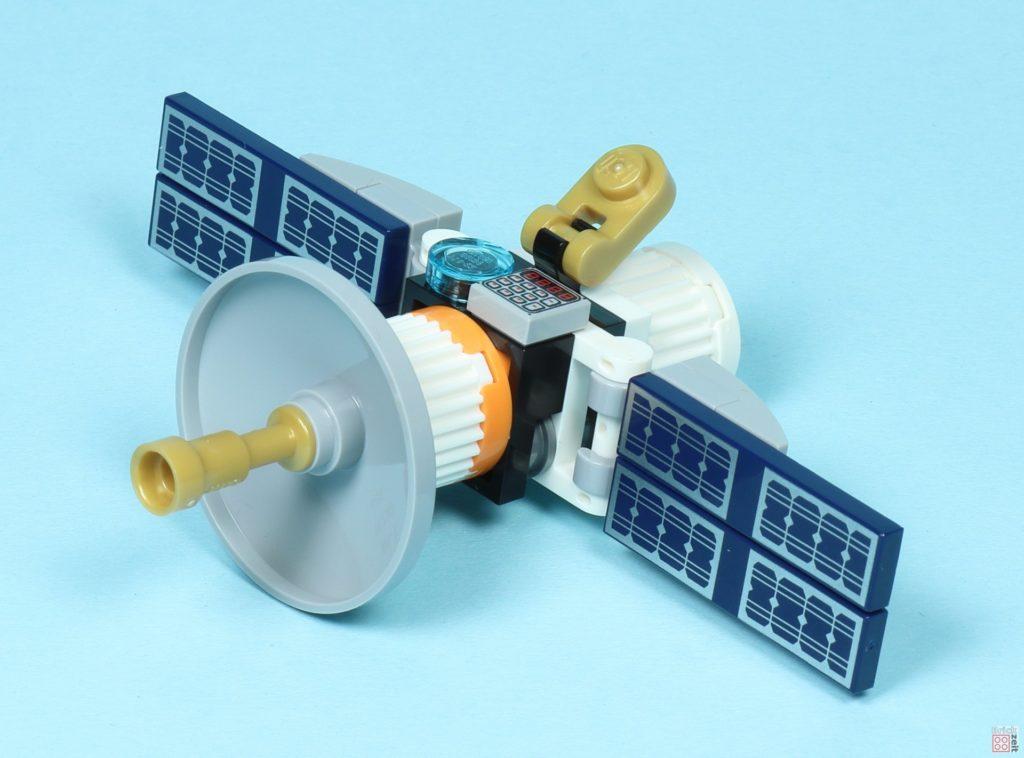 LEGO® City 30365 Raumfahrtsatellit, vorne links | ©2019 Brickzeit