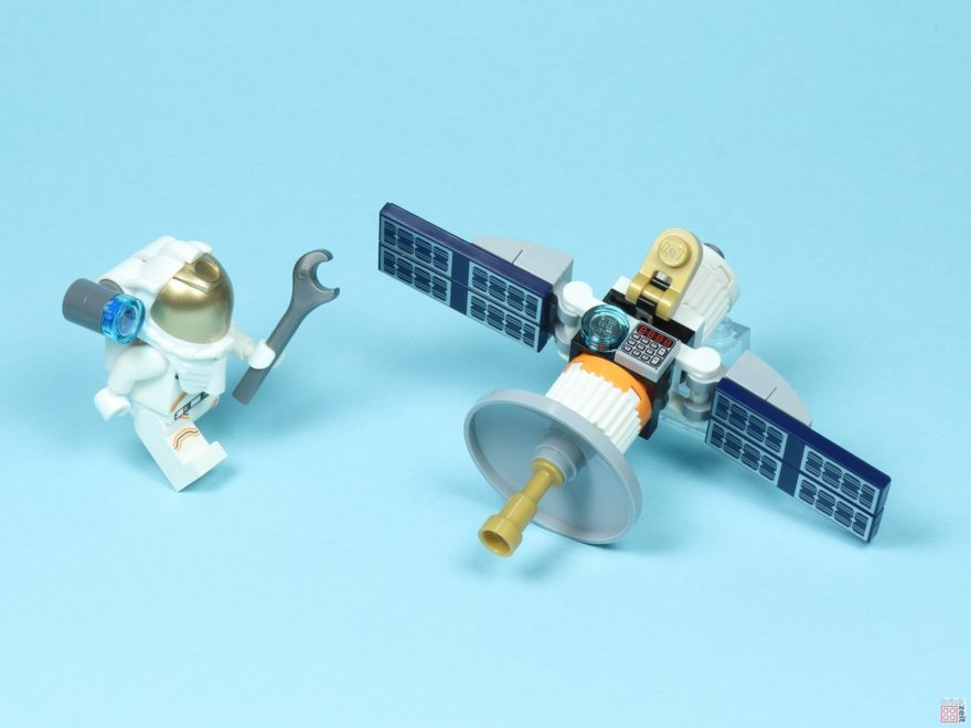 Review - LEGO® City 30365 Raumfahrtsatellit Polybag - Titelbild | ©2019 Brickzeit