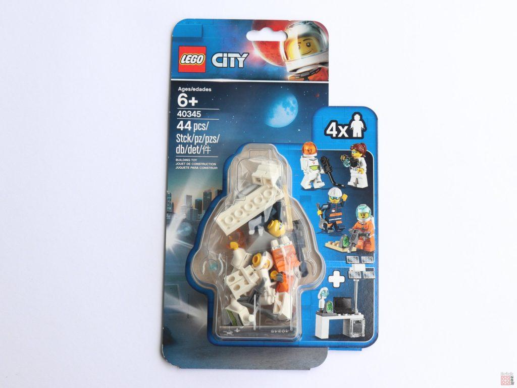 LEGO® City 40345 - Minifiguren-Set LEGO® City Weltraum - Packung | ©2019 Brickzeit