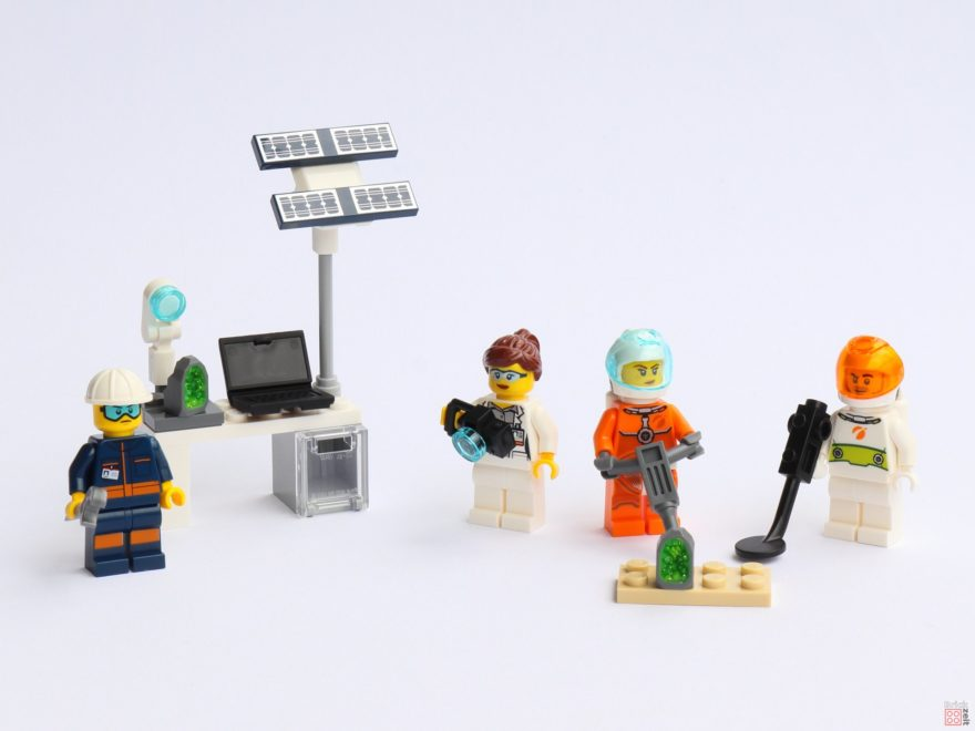 Review - LEGO® City 40345 - Minifiguren-Set LEGO® City Weltraum - Titelbild | ©2019 Brickzeit