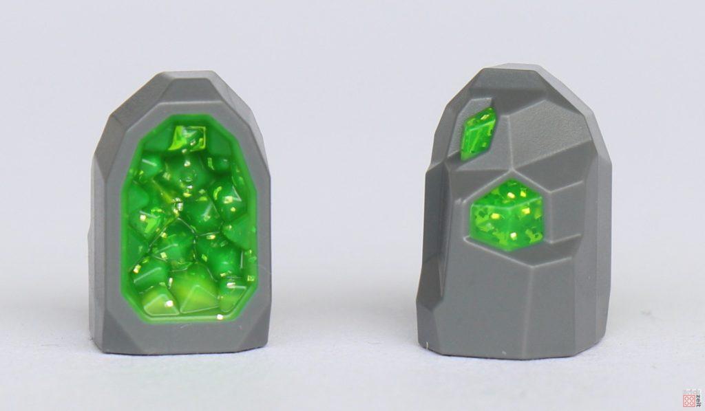 LEGO® City 40345 - Kristall, Vorder- und Rückseite | ©2019 Brickzeit