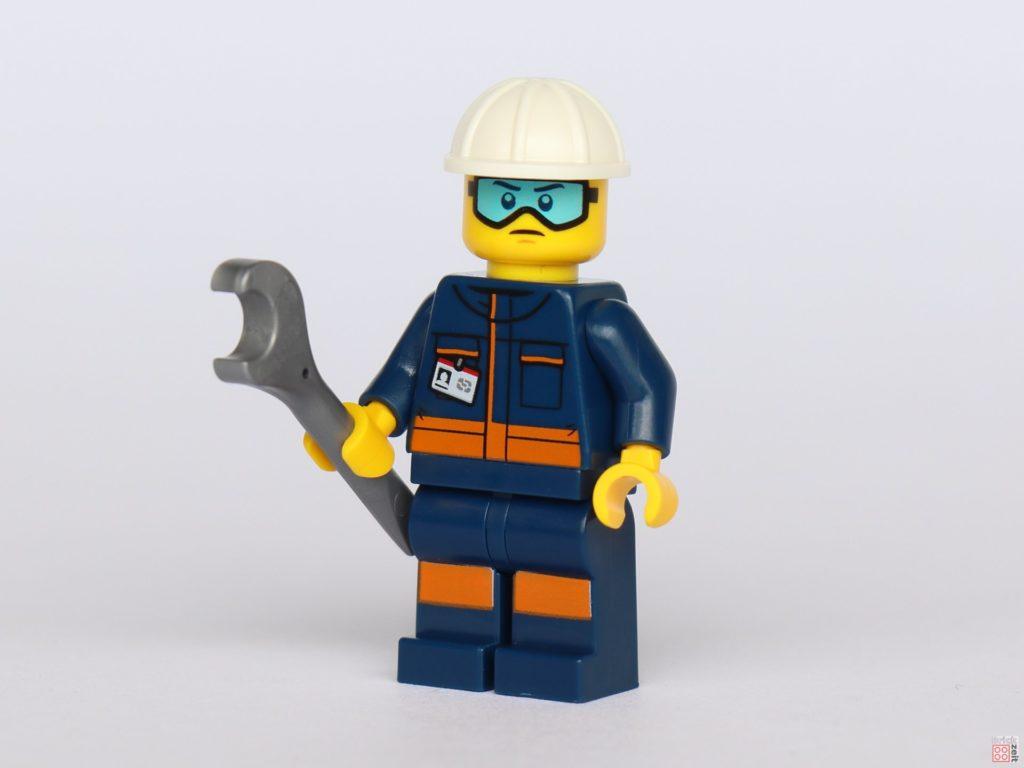 LEGO® City 40345 - Bodentechniker mit Schraubschlüssel | ©2019 Brickzeit