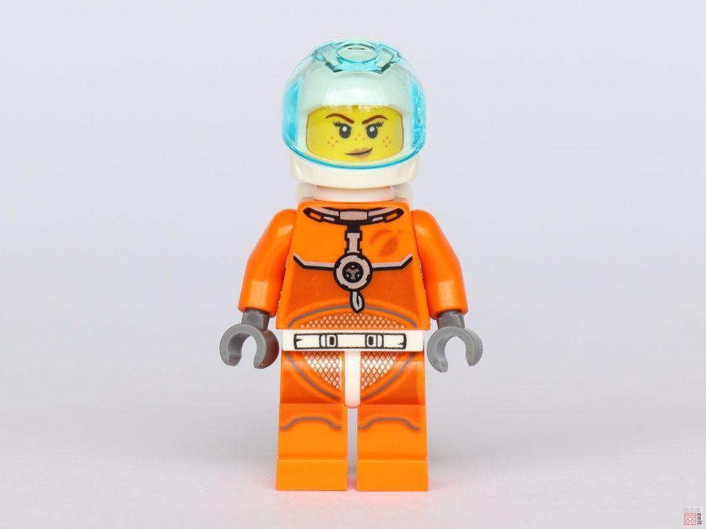 LEGO® City 40345 - Austronautin in orangem Anzug, Vorderseite | ©2019 Brickzeit