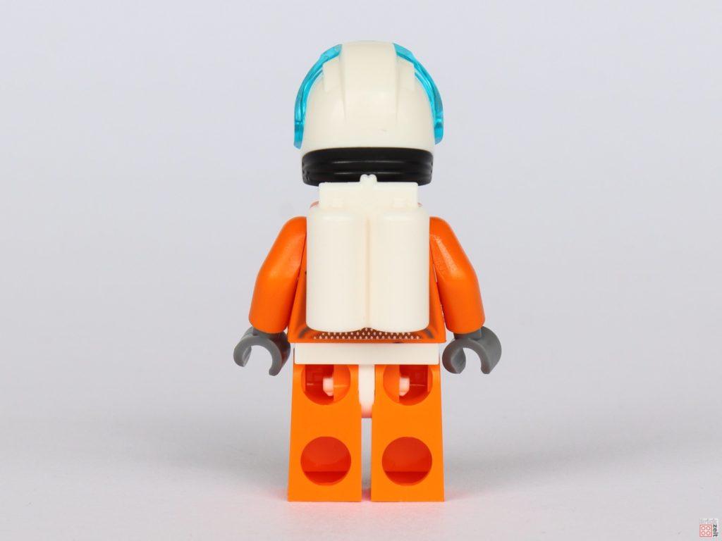 LEGO® City 40345 - Austronautin in orangem Anzug, Rückseite | ©2019 Brickzeit