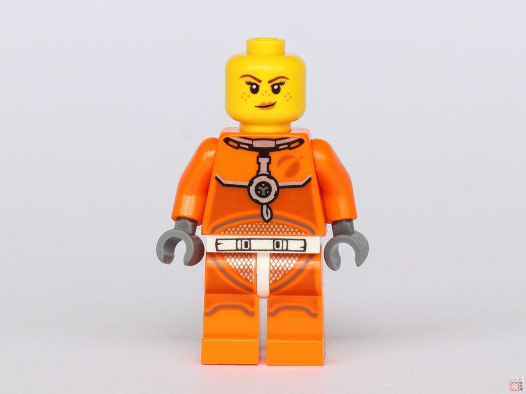 LEGO® City 40345 - Austronautin ohne Helm, Vorderseite | ©2019 Brickzeit