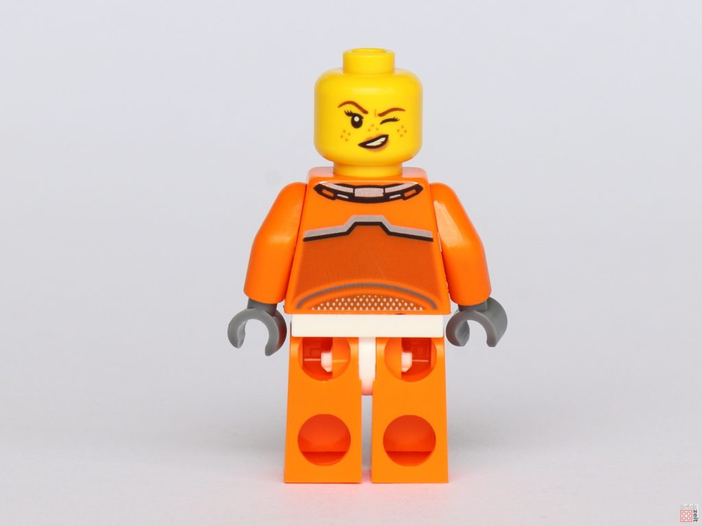 LEGO® City 40345 - Austronautin ohne Helm, Rückseite | ©2019 Brickzeit