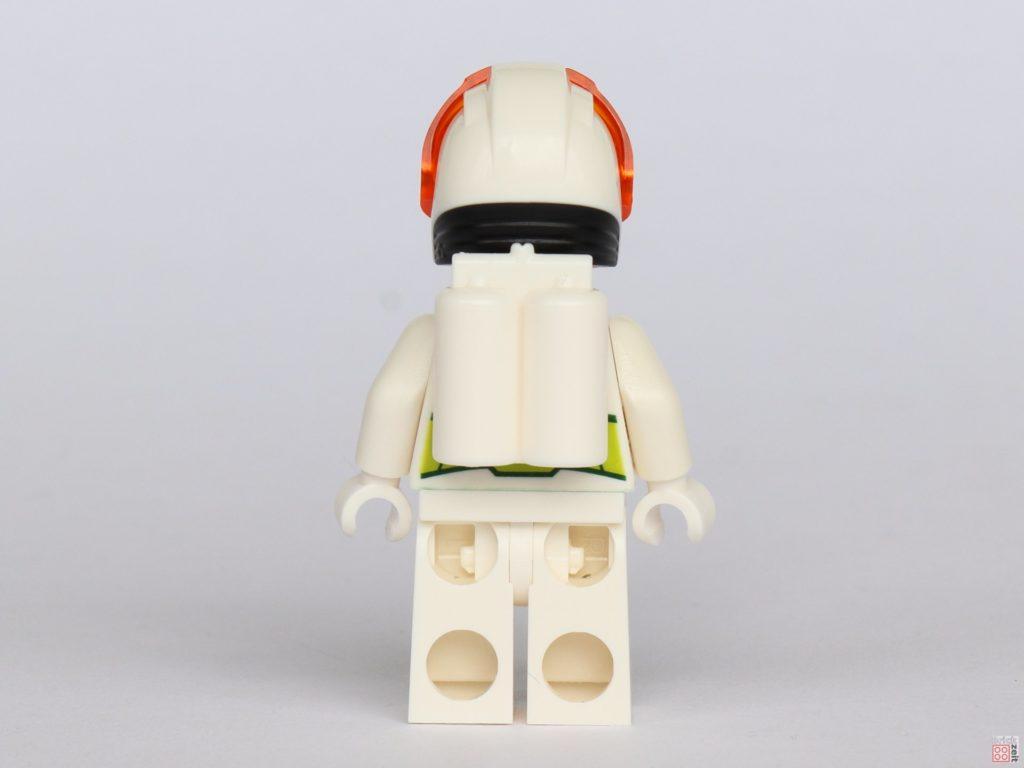 LEGO® City 40345 - Austronaut in weißem Anzug, Rückseite | ©2019 Brickzeit