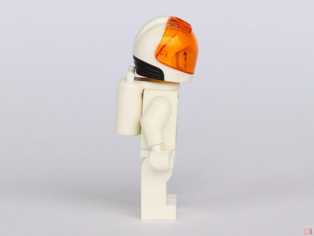 LEGO® City 40345 - Austronaut in weißem Anzug, rechte Seite | ©2019 Brickzeit