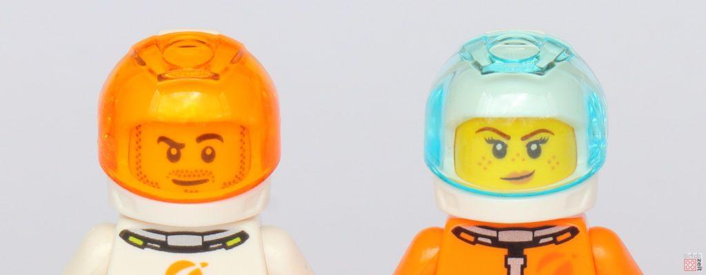 LEGO® City 40345 - Astronautenhelme, Vorderseite | ©2019 Brickzeit