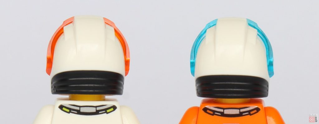 LEGO® City 40345 - Astronautenhelme, Rückseite | ©2019 Brickzeit
