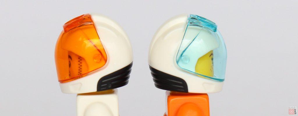 LEGO® City 40345 - Astronautenhelme, rechte und linke Seite | ©2019 Brickzeit
