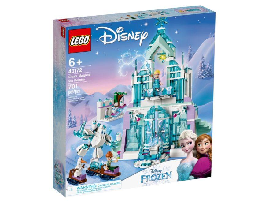 LEGO® Disney 43172 Elsas magischer Eispalast - Packung Vorderseite | ©LEGO Gruppe