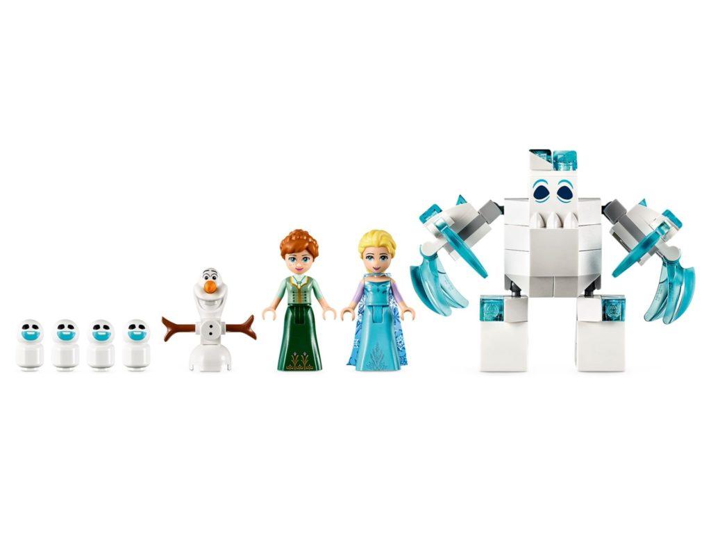 LEGO® Disney 43172 Elsas magischer Eispalast - Figuren | ©LEGO Gruppe