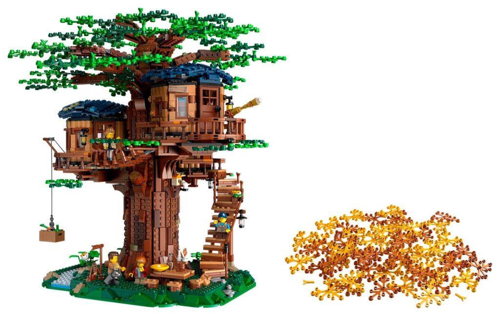 LEGO® Ideas 21318 Baumhaus - Bild 01 | ©LEGO Gruppe
