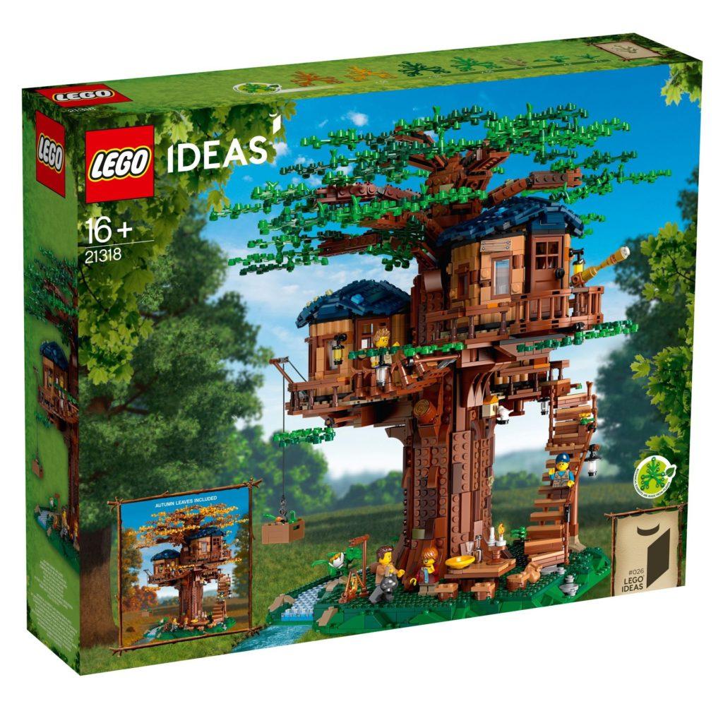 LEGO® Ideas 21318 Baumhaus - Packung Vorderseite | ©LEGO Gruppe