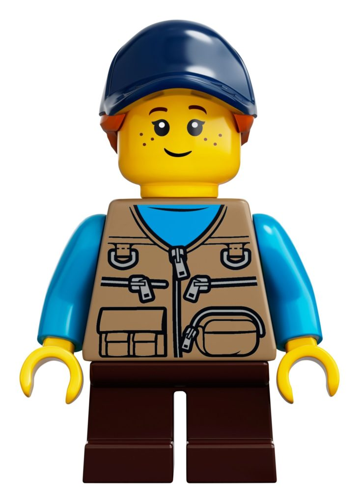 LEGO® Ideas 21318 Baumhaus - Tochter | ©LEGO Gruppe