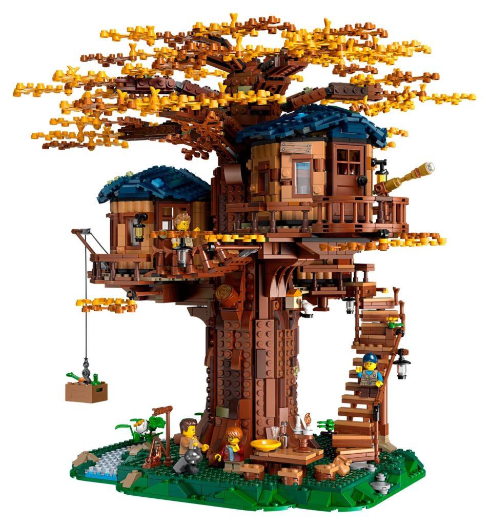 LEGO® Ideas 21318 Baumhaus - Herbstliches Blätterkleid | ©LEGO Gruppe