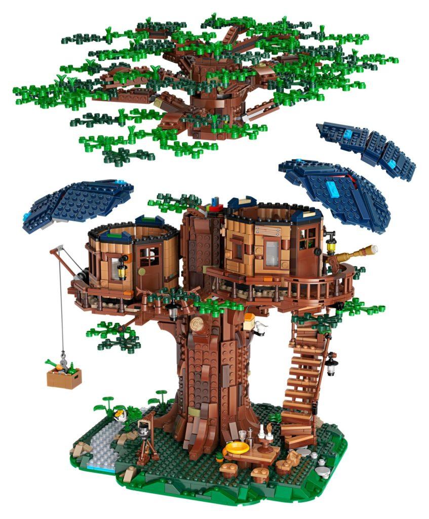 LEGO® Ideas 21318 Baumhaus - Module | ©LEGO Gruppe