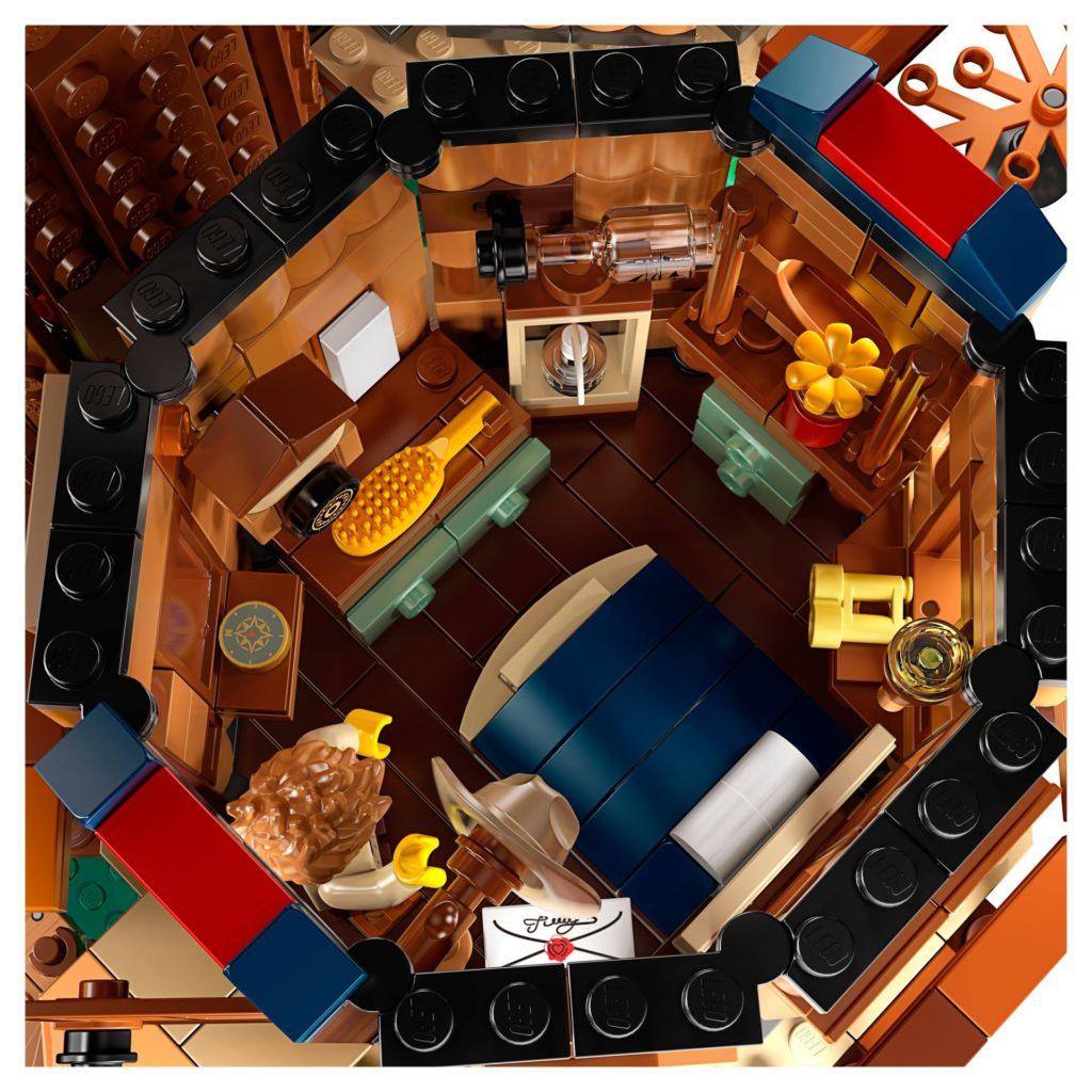 LEGO® Ideas 21318 Baumhaus - Innenleben | ©LEGO Gruppe