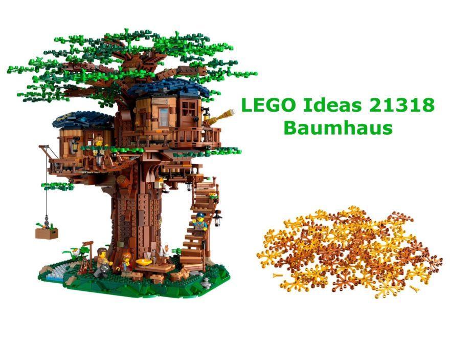LEGO® Ideas 21318 Baumhaus - Titelbild | ©LEGO Gruppe