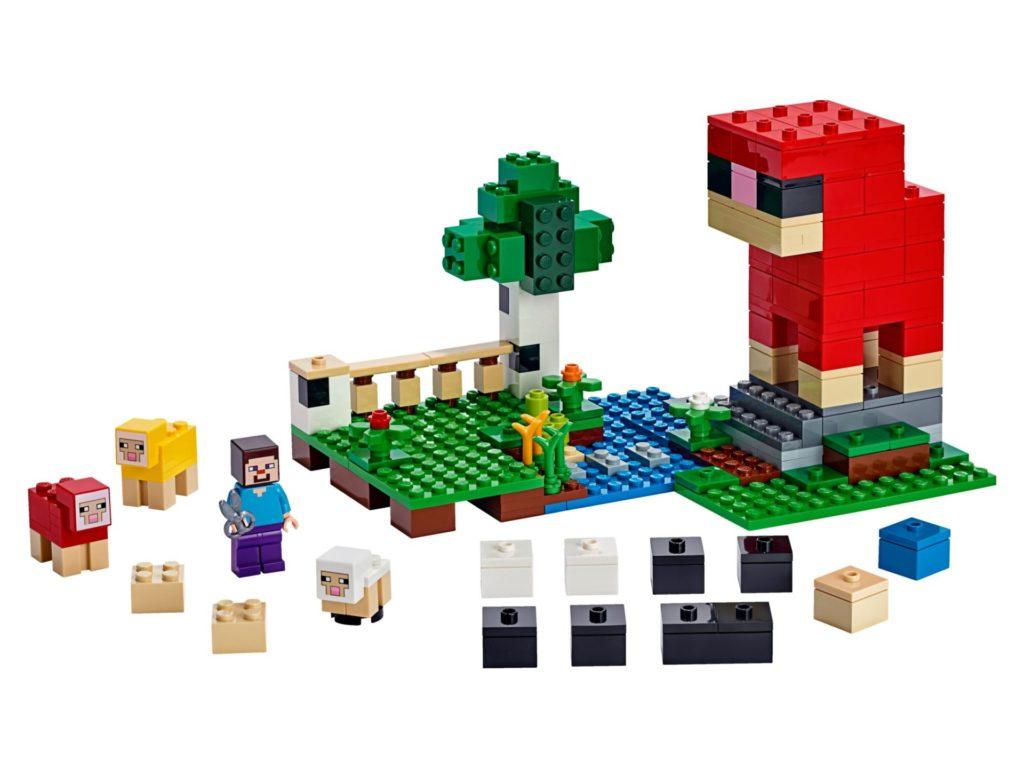 LEGO® Minecraft 21153 Die Schaffarm - Bild 01 | ©LEGO Gruppe
