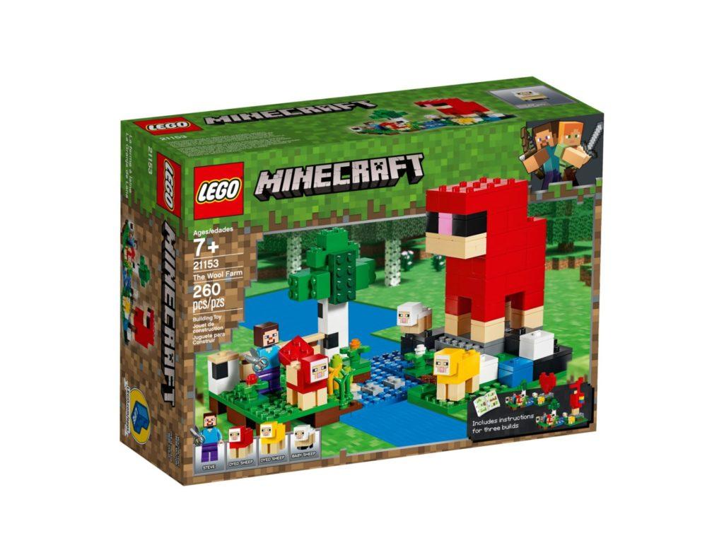 LEGO® Minecraft 21153 Die Schaffarm - Bild 2 | ©LEGO Gruppe