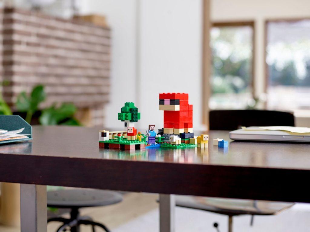 LEGO® Minecraft 21153 Die Schaffarm - Bild 11 | ©LEGO Gruppe