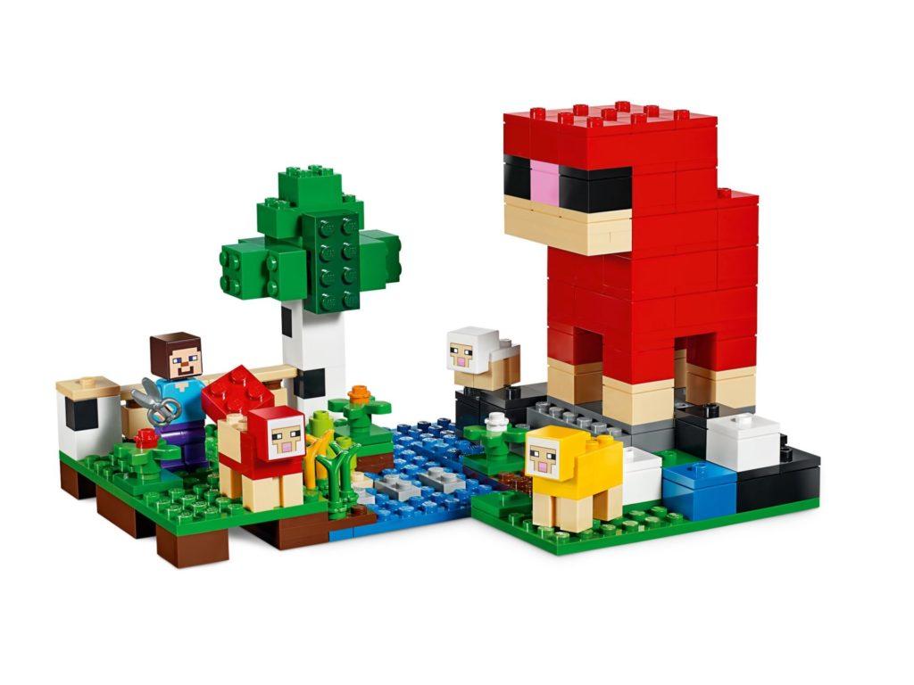 LEGO® Minecraft 21153 Die Schaffarm - Bild 3 | ©LEGO Gruppe