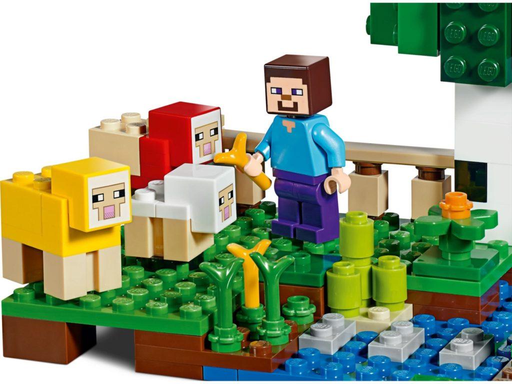 LEGO® Minecraft 21153 Die Schaffarm - Bild 4 | ©LEGO Gruppe