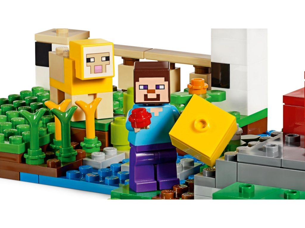 LEGO® Minecraft 21153 Die Schaffarm - Bild 5 | ©LEGO Gruppe