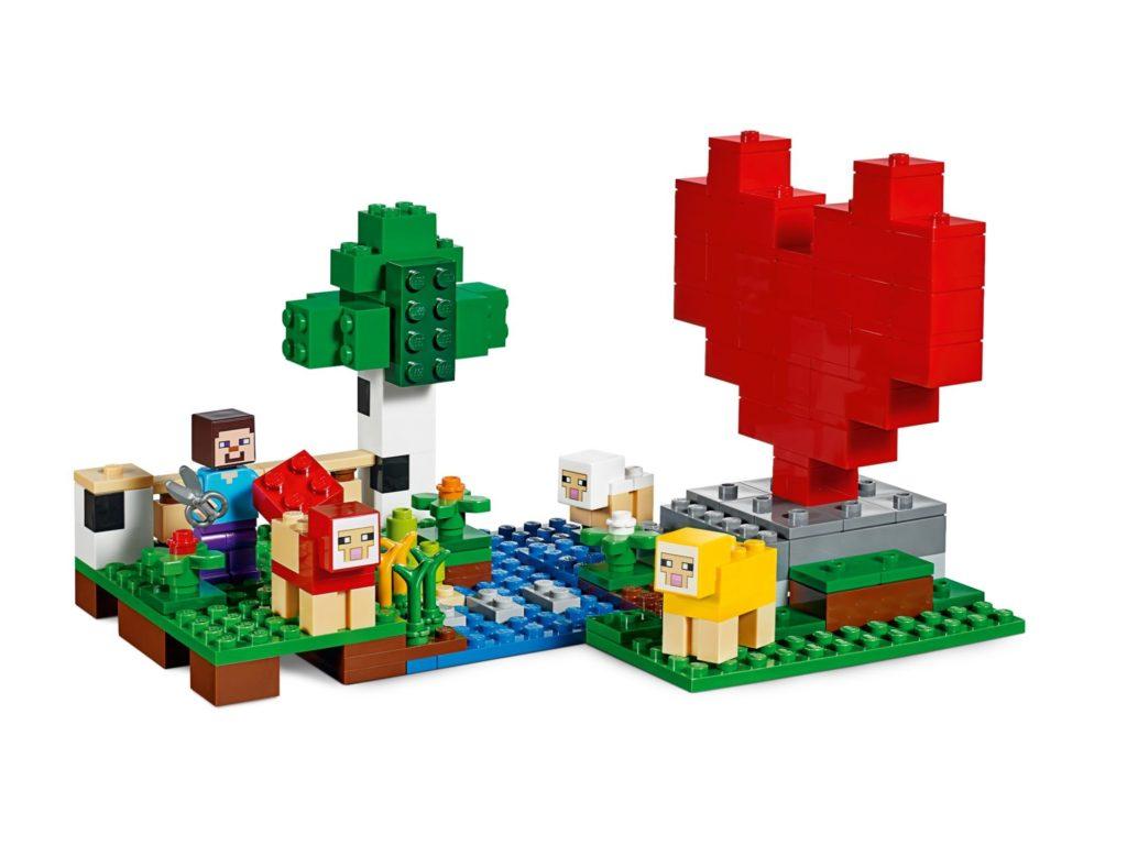LEGO® Minecraft 21153 Die Schaffarm - Bild 6 | ©LEGO Gruppe