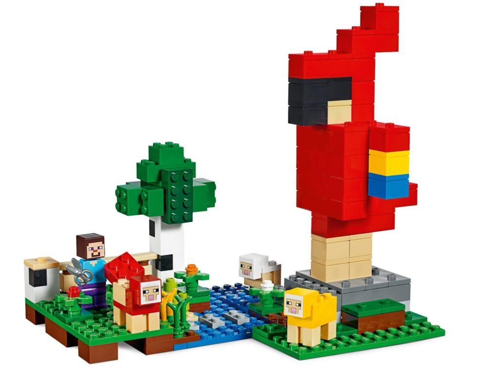 LEGO® Minecraft 21153 Die Schaffarm - Bild 8 | ©LEGO Gruppe