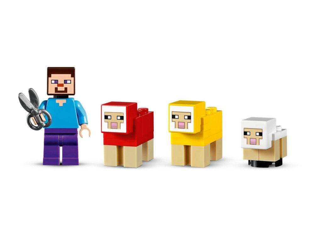 LEGO® Minecraft 21153 Die Schaffarm - Bild 9 | ©LEGO Gruppe