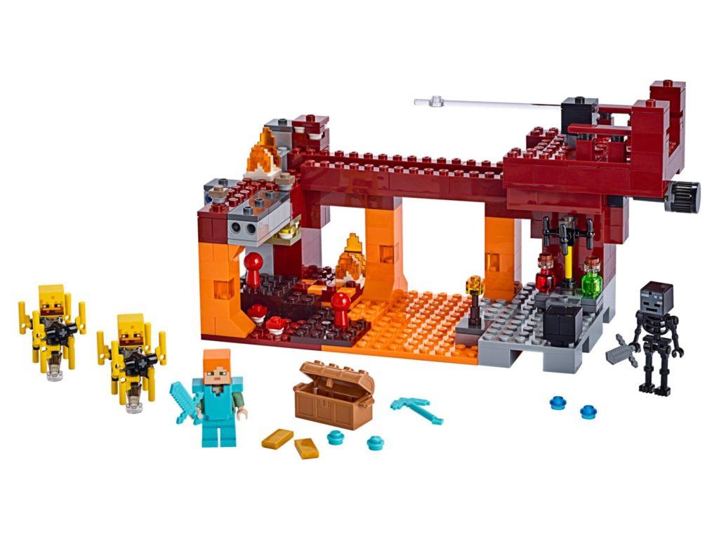 LEGO® Minecraft 21154 Die Brücke - Bild 01 | ©LEGO Gruppe