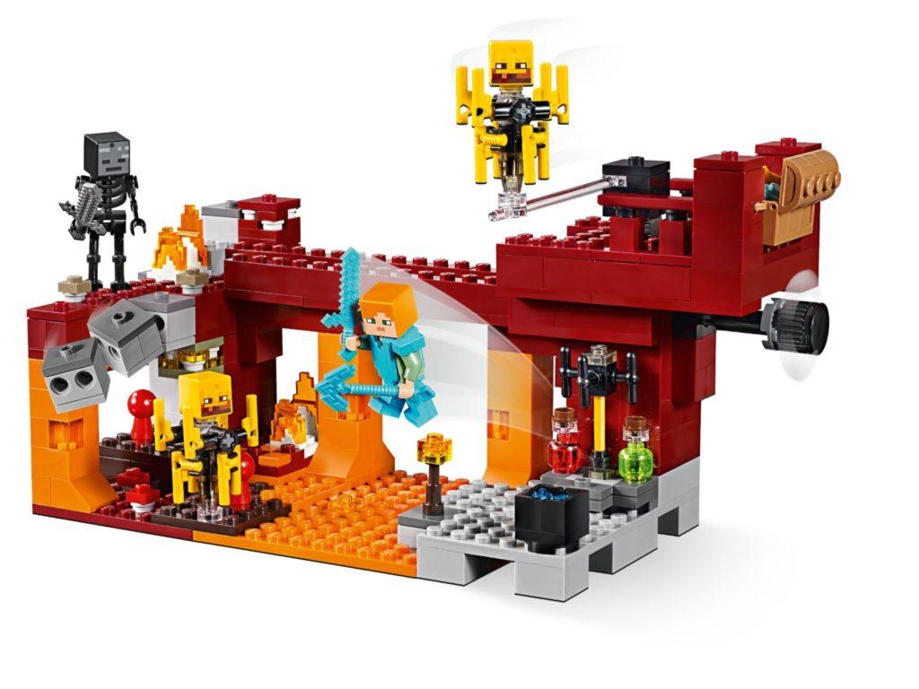 LEGO® Minecraft 21154 Die Brücke - Bild 03 | ©LEGO Gruppe