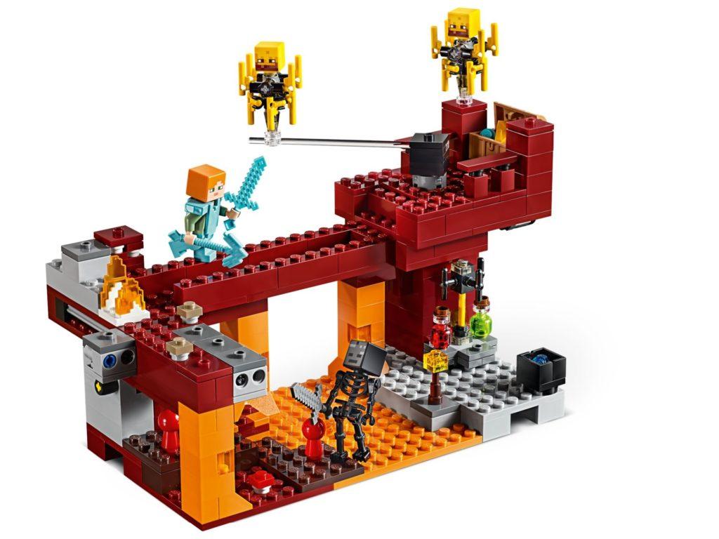 LEGO® Minecraft 21154 Die Brücke - Bild 04 | ©LEGO Gruppe