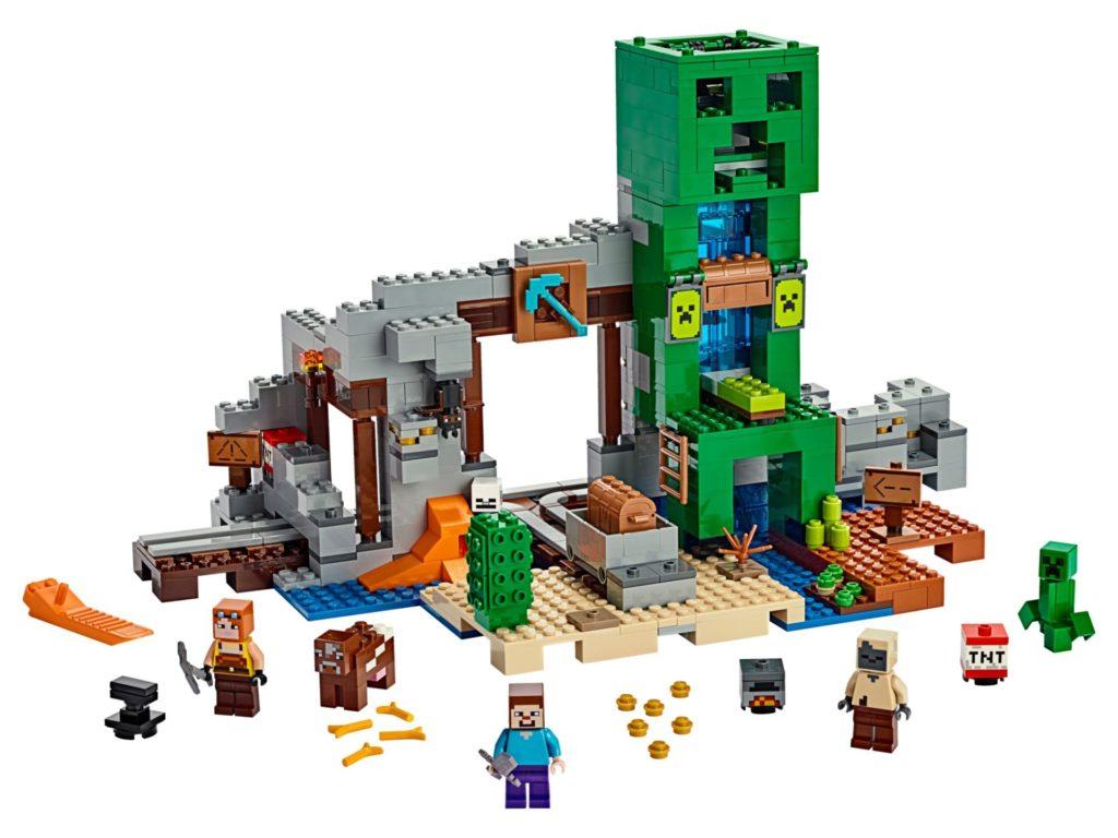 LEGO® Minecraft 21155 Die Creeper Mine - Bild 01 | ©LEGO Gruppe