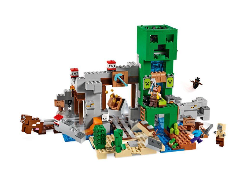 LEGO® Minecraft 21155 Die Creeper Mine - Bild 03 | ©LEGO Gruppe