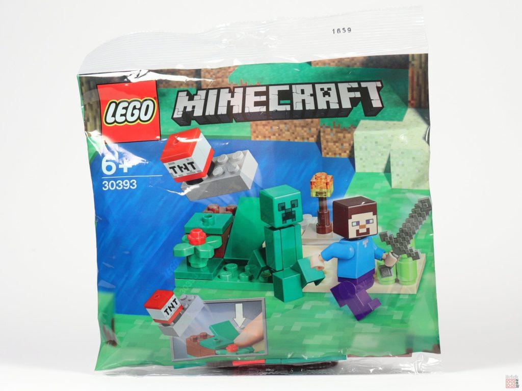 LEGO® Minecraft 30393 Steve und Creeper Polybag | ©2019 Brickzeit
