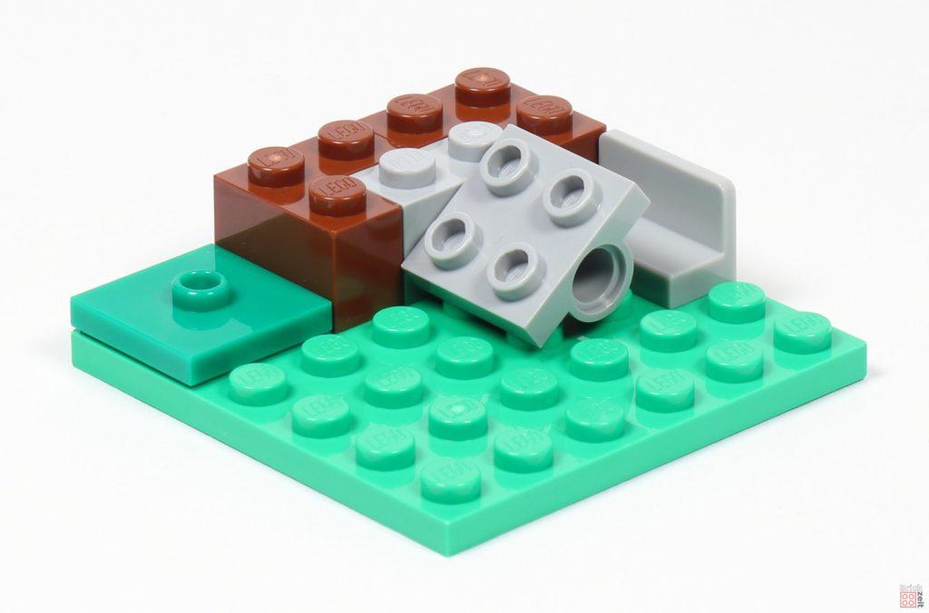 LEGO® Minecraft 30393 Steve und Creeper - Bild vom Bau | ©2019 Brickzeit